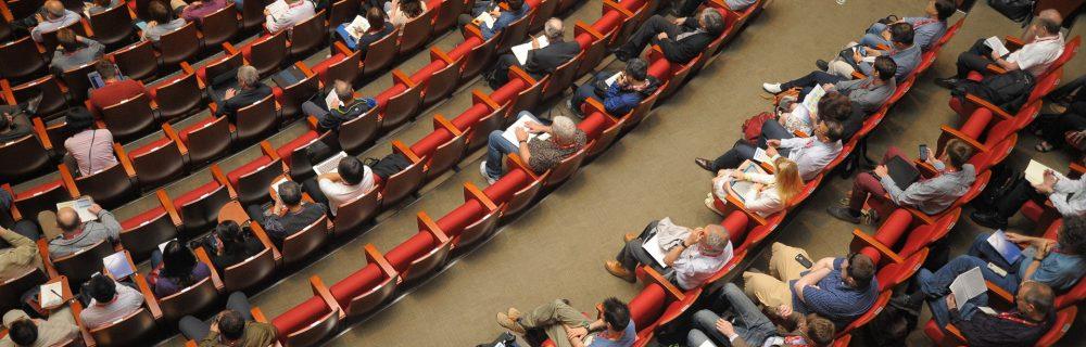 Auditorium meeting